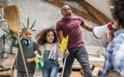 Faire participer les enfants aux tâches ménagères à la maison